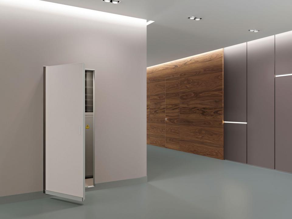 """Технический люк-дверь под покраску """"Бригадир"""" (Алкрафт) в интерьере"""