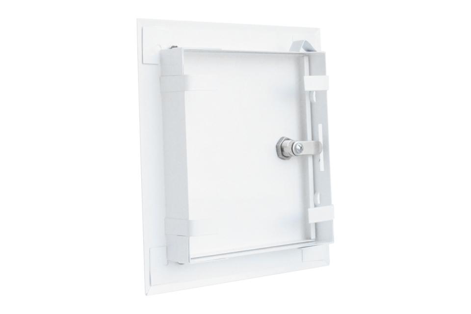 "Металлический люк-дверца с замком. Производитель ""Алкрафт"""